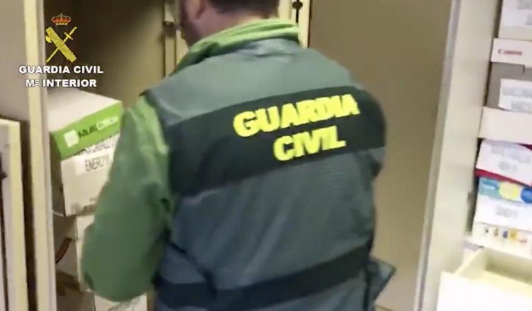 La Guardia Civil desarticula en Granada una peligrosa banda de atracadores