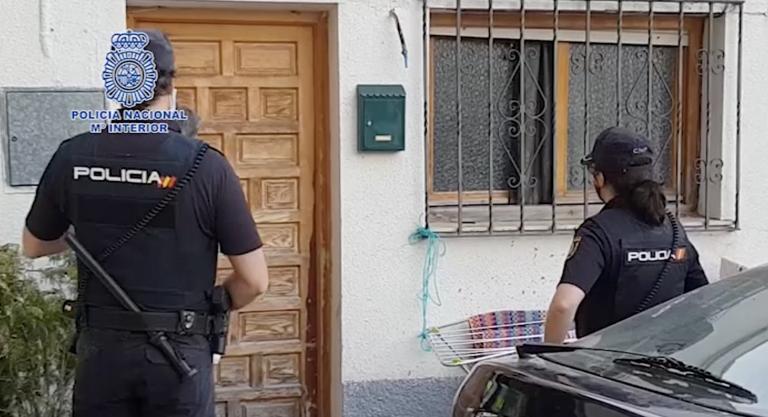 La Policía Nacional libera a una mujer forzada a prostituirse desde el año 2009