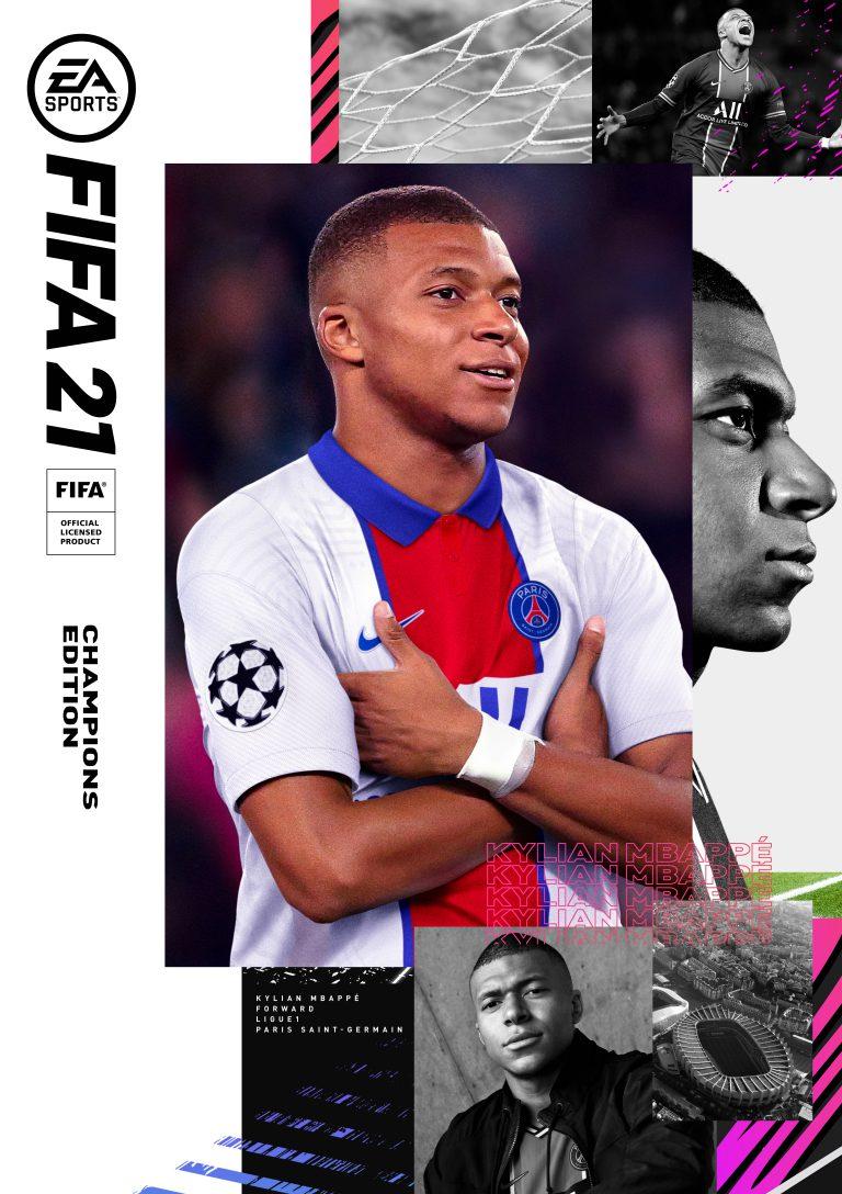 Mbappé será la portada de FIFA 21