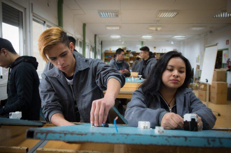 35 años apoyando la formación e integración laboral de jóvenes en desventaja social