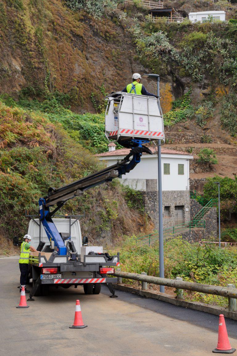 El Ayuntamiento mejorará la eficiencia energética de Geneto y Los Baldíos con más de 300.000 euros