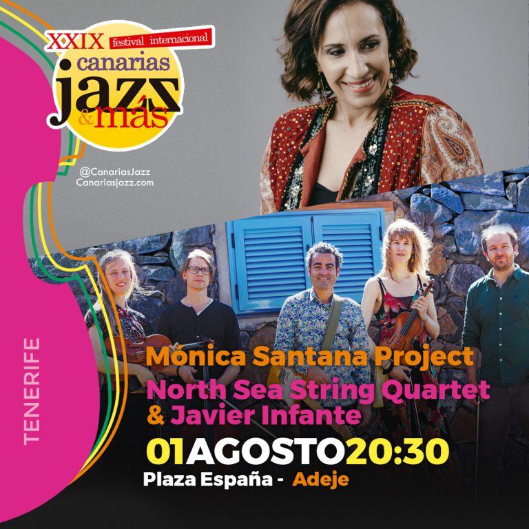 La XXIX edición del Festival Internacional Canarias Jazz & más llegará a Adeje el sábado 1 de agosto