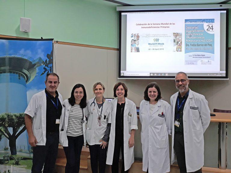 LaUnidad de Inmunodeficiencias Primarias delHUCha tratado a 68 pacientes en su primer año