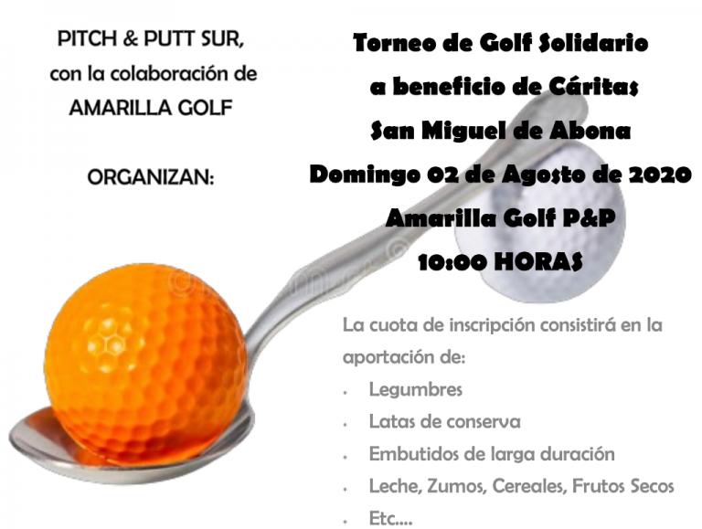 Torneo de Golf Solidario a beneficio de Cáritas San Miguel