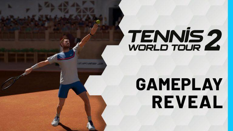 Tennis World Tour 2 ya es una realidad y tiene fecha de lanzamiento