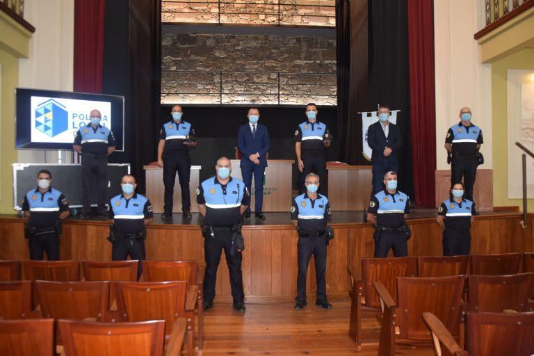 Dos agentes de la Policía Local de Gáldar prometieron su cargo como funcionarios de carrera