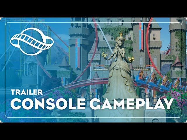 Planet Coaster muestra su primer vídeo gameplay de como rinde en consolas