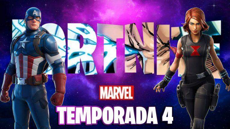 Fortnite se viste de superhéroe Márvel en su cuarta temporada