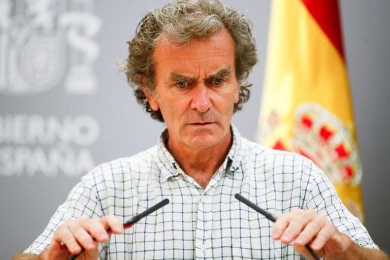 """Simón defiende que España está en una """"subida suave"""" pese a los 16.000 nuevos casos este fin de semana"""