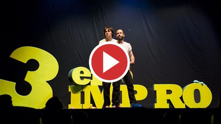El teatro más gamberro, 3 en Impro, vuelve el 9 de octubre