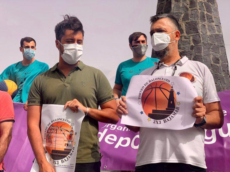 El Faro de Bajamar acogió la presentación del XXVIII Torneo 3×3 Bajamar