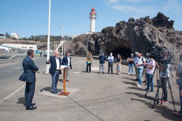 El Cabildo invertirá 1,6 millones en el Puerto de Taliarte para explotar su potencial pesquero, científico y deportivo
