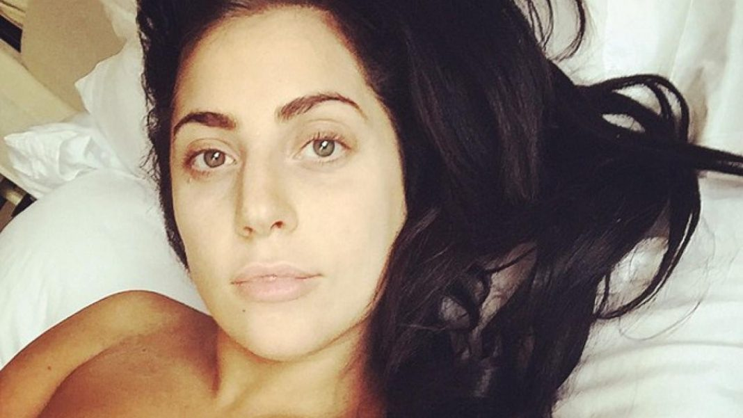 Lady Gaga famosas sin maquillaje