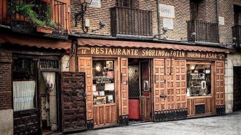 Así es el restaurante Sobrino de Botín, el más antiguo de Madrid