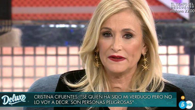Cristina Cifuentes: De la Comunidad de Madrid a Sálvame. Por fin todo cuadra