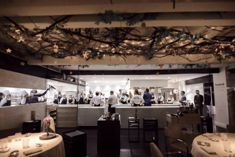 Así es el restaurante Leña de Dani García