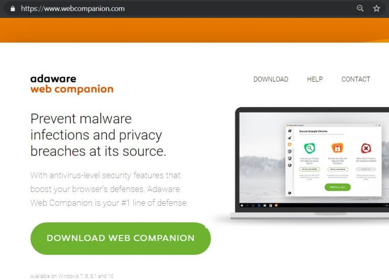 Qué es web companion
