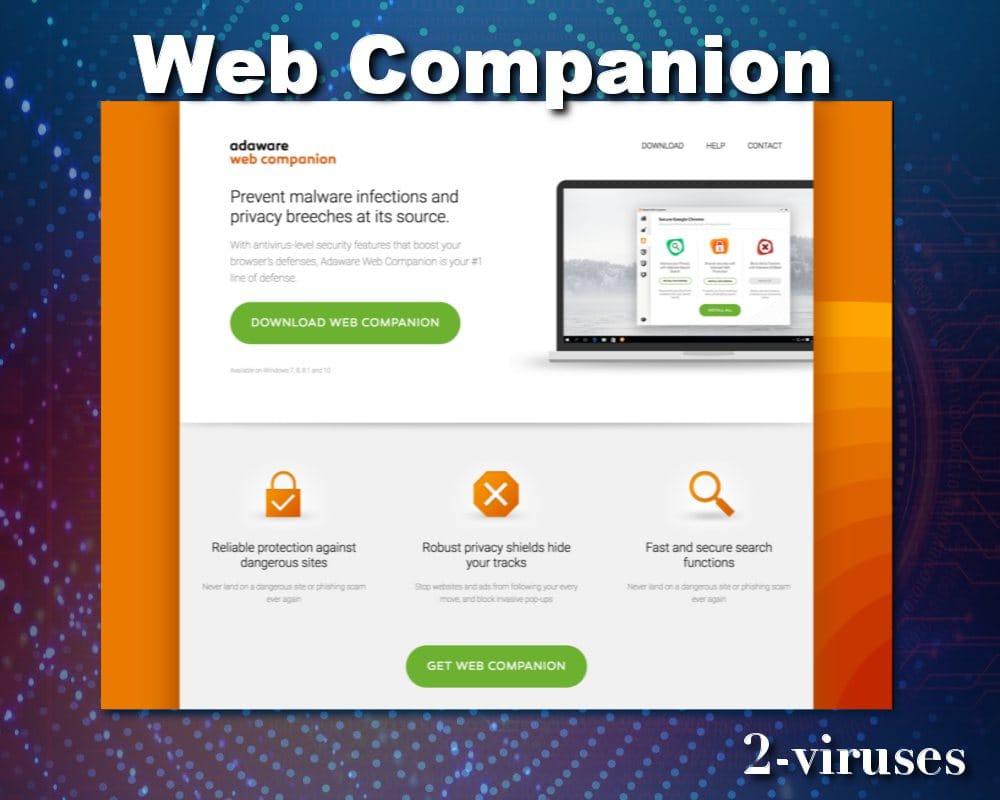 ¿Qué es web companion?