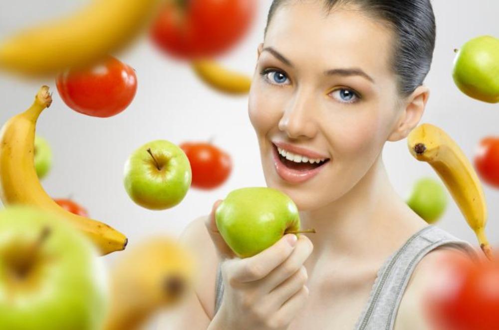 comer frutas frescas