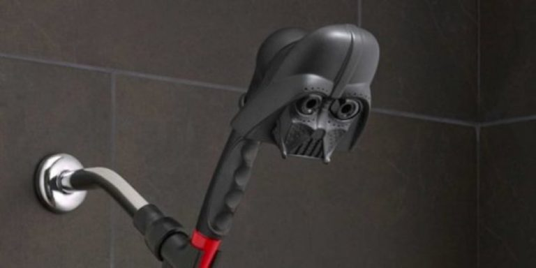 La ducha de Darth Vader y otros gadgets para los fans de Star Wars