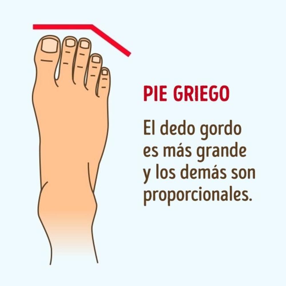 el pie griego qué dice de ti