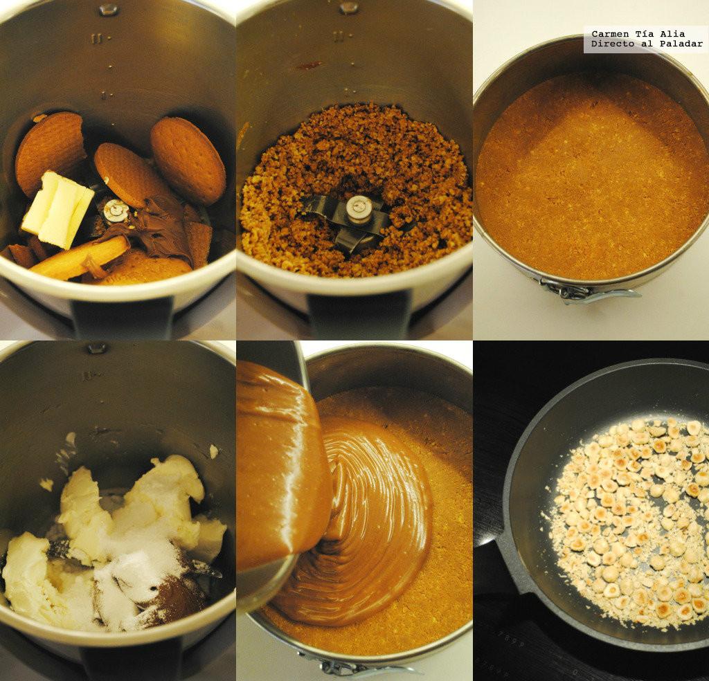Cómo hacer una tarta de queso de Nutella