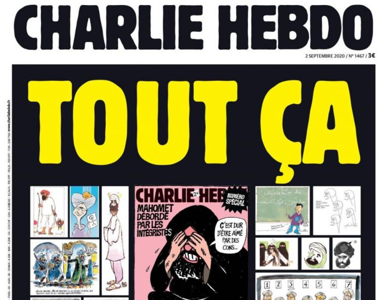 Instagram bloquea a dos humoristas de 'Charlie Hebdo' por publicar una portada con Mahoma