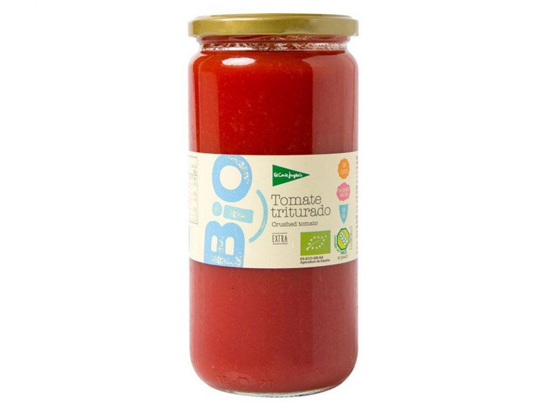 tomate triturado bio; el corte ingles
