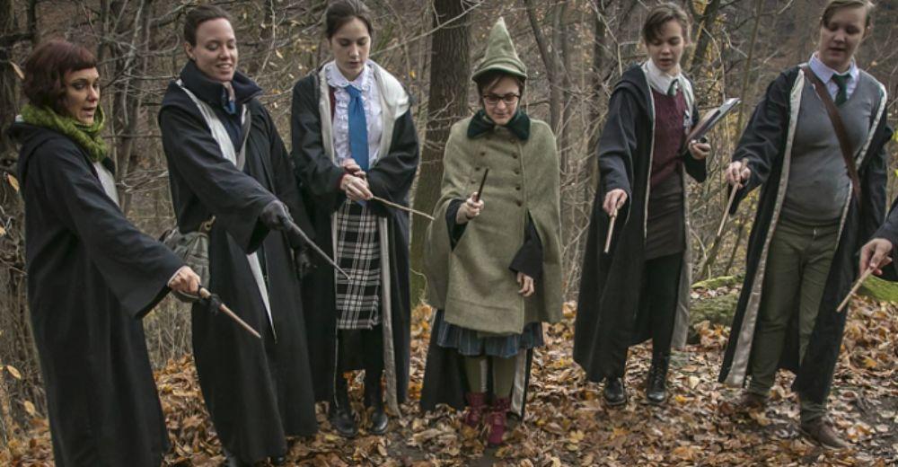 una experiencia en medio del bosque Harry Potter