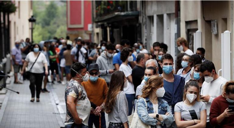 Aragón detecta 423 nuevos casos, de los resultados de 3.233 PCR
