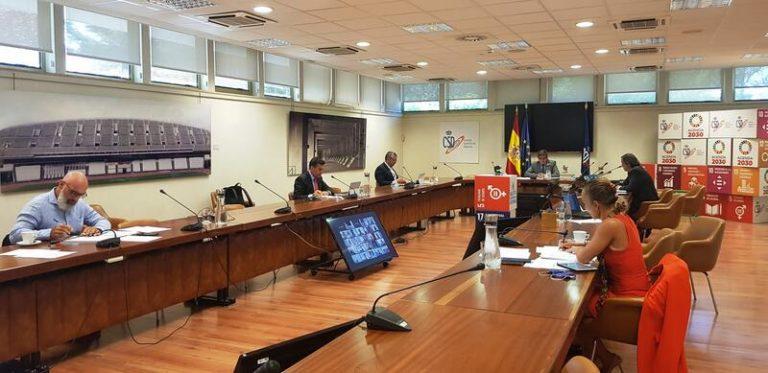 GTID acuerda actualizar los protocolos sanitarios para la reanudación segura de las competiciones