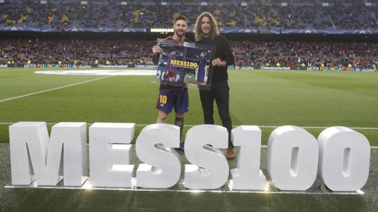 """Puyol muestra """"todo"""" su """"apoyo"""" a Messi y Luis Suárez aplaude sus palabras"""