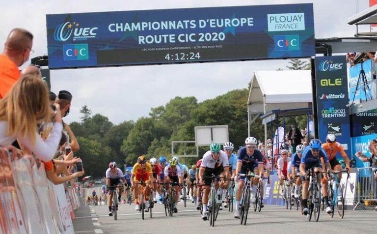Cortina, octavo en la prueba en línea del Campeonato de Europa