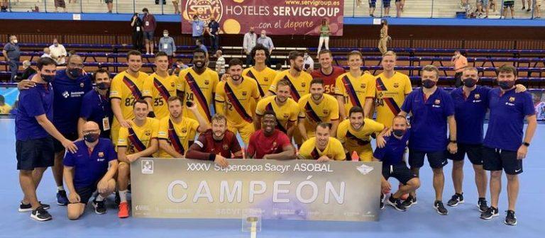 Barça levanta su novena Supercopa Asobal consecutiva