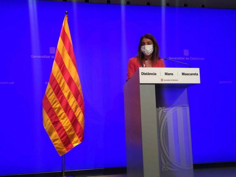 """Gobierno catalán asegura que """" todos los escenarios están abiertos"""" para ir a elecciones"""