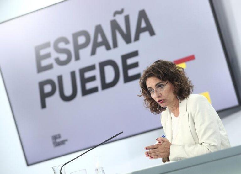 Montero asume que la fiscalidad pactada entre PSOE y Unidas Podemos se debe modular