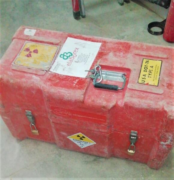 El Consejo de Seguridad Nuclear advierte del robo de un equipo radiactivo en Mérida