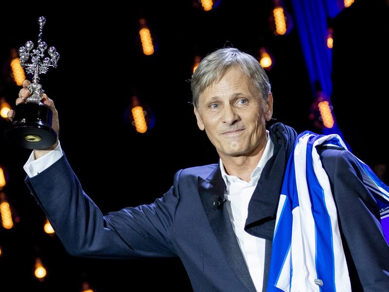 Viggo Mortensen recibe el Premio Donostia en el Festival de Cine de San Sebastián