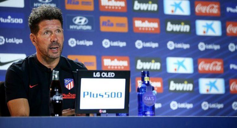"""Simeone: """"En Suárez encontré lo que necesitamos, ilusión y ganas de estar aquí"""""""