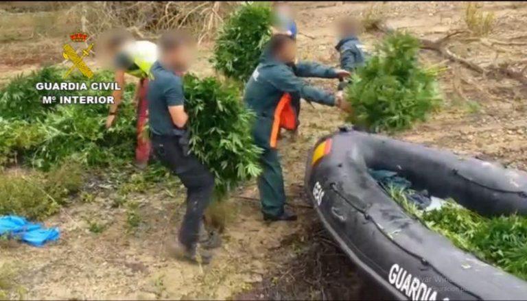 La Guardia Civil incauta mil 765 kilos de marihuana en La Ribagorza
