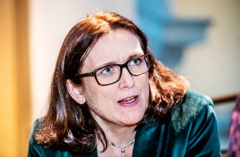 Suecia impulsa la candidatura de la excomisaria europea Cecilia Malmström