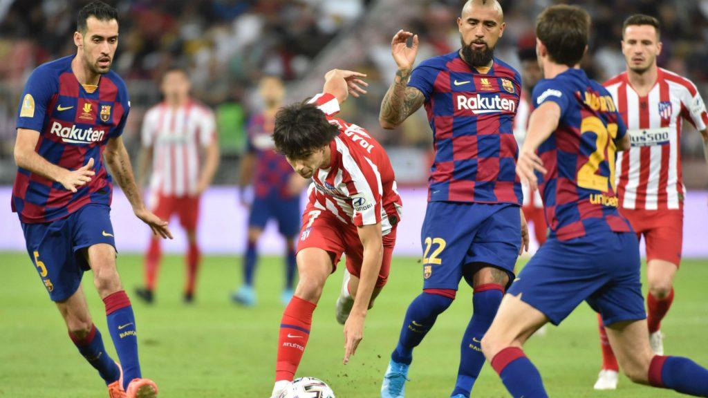 Atlético de Madrid Barcelona en vivo online en directo