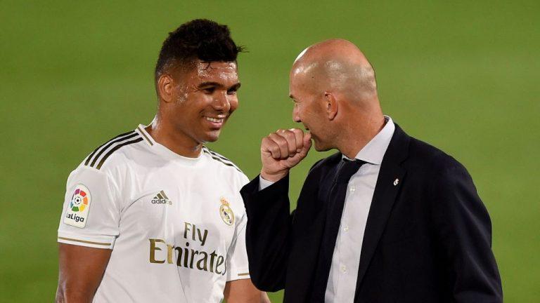 El canterano amado por Zidane para acompañar a Casemiro