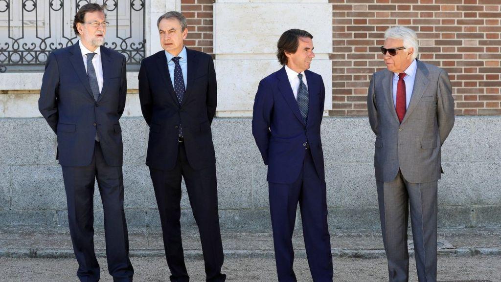 Ex presidentes de España para documental ETA