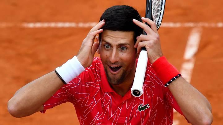 """Djokovic: """"No tomé mi decisión por la baja de Nadal"""""""
