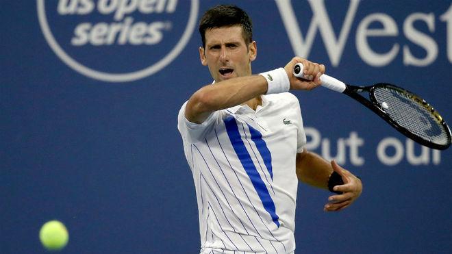 Djokovic supera el debut en Cincinnati con un trabajado triunfo ante Berankis