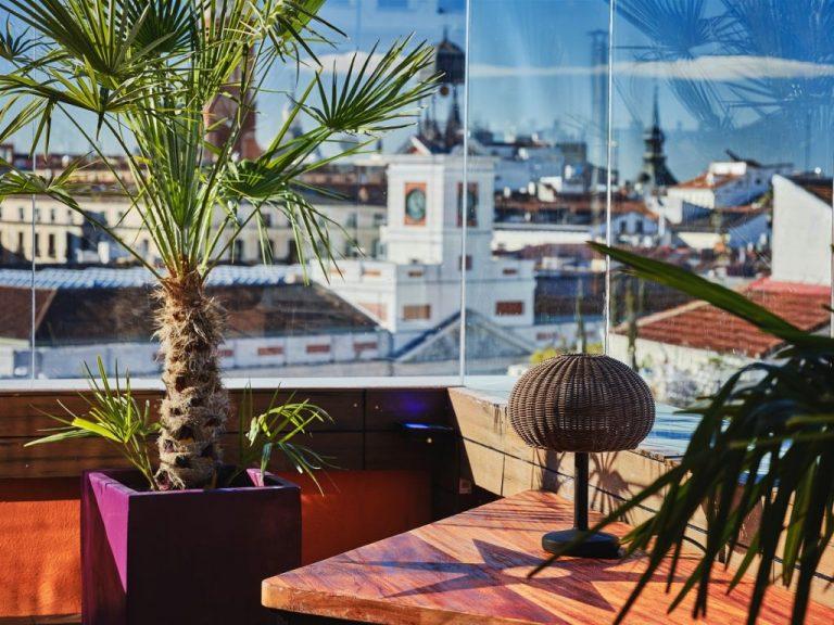 Doñaluz, una terraza para disfrutar del otoño en Madrid