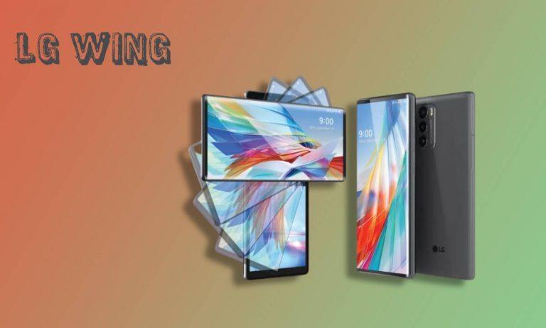 Todo lo que sabemos hasta ahora del LG Wing, el móvil de pantalla giratoria de la marca