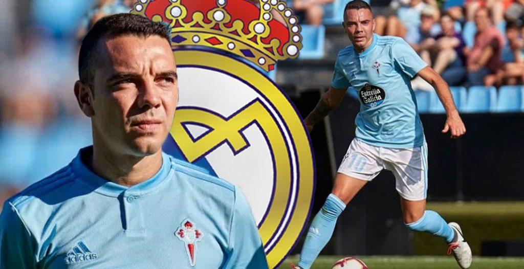 Iago Aspas podría haber terminado en el Madrid
