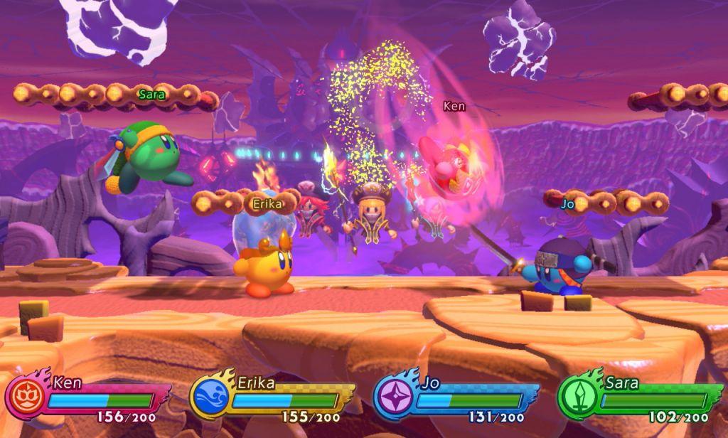 Kirby Fighters 2 – Divertido juego de lucha protagonizado por Kirby